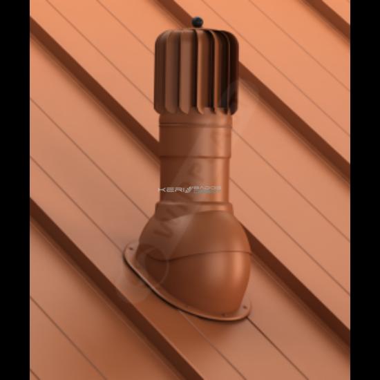 Légáramlásnövelő szellőző síklemezfedés, Lindab Click rendszer Ø150mm