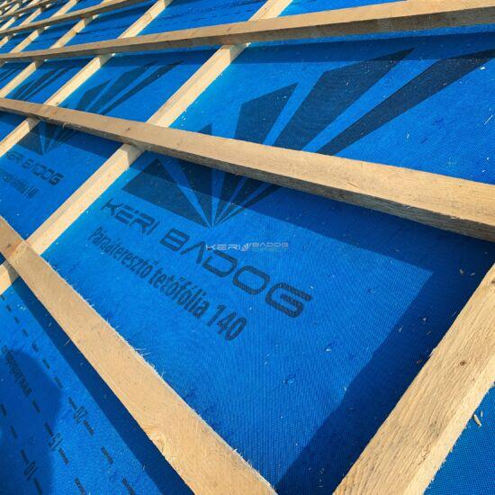 Páraáteresztő tetőfólia +rag 37,5m2 140 g/m²